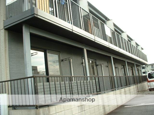 愛知県尾張旭市、藤が丘駅名鉄バスバス12分本地ヶ原下車後徒歩3分の築22年 2階建の賃貸アパート