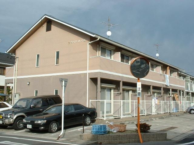 愛知県尾張旭市、印場駅徒歩15分の築22年 2階建の賃貸アパート