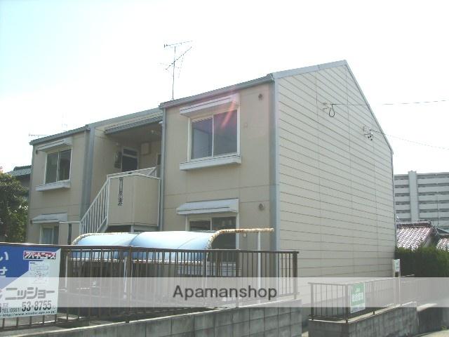 愛知県名古屋市守山区、藤が丘駅徒歩19分の築29年 2階建の賃貸アパート