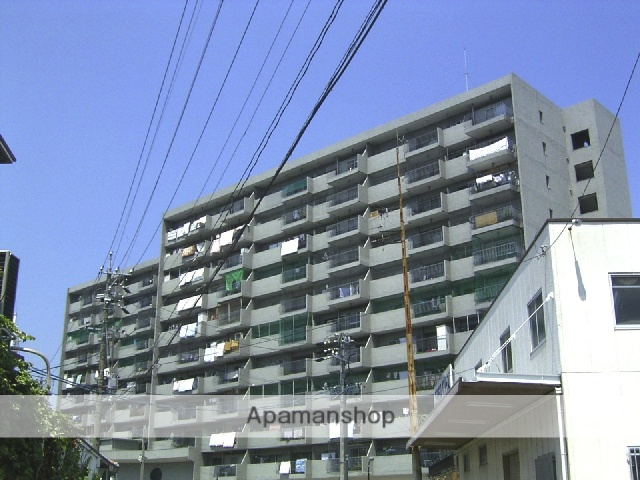 愛知県瀬戸市、新瀬戸駅徒歩13分の築43年 11階建の賃貸マンション