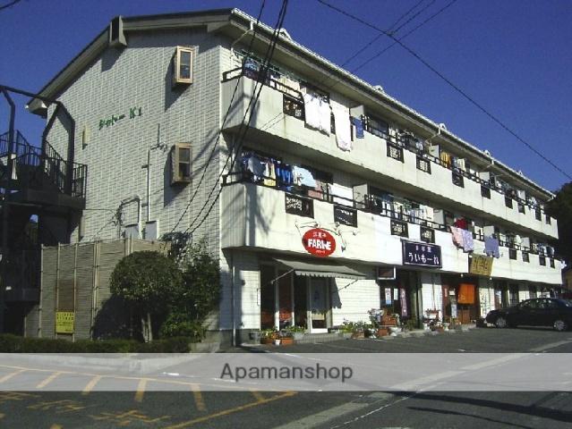 愛知県瀬戸市、新瀬戸駅徒歩11分の築26年 3階建の賃貸アパート