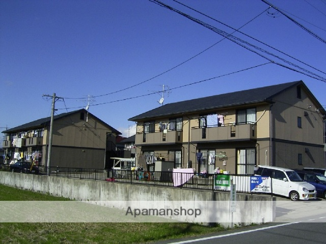 愛知県瀬戸市、山口駅徒歩30分の築22年 2階建の賃貸アパート