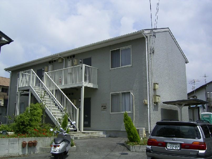 愛知県瀬戸市、新瀬戸駅徒歩28分の築17年 2階建の賃貸アパート