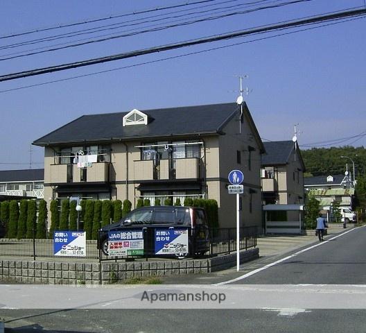 愛知県瀬戸市、山口駅徒歩5分の築20年 2階建の賃貸アパート