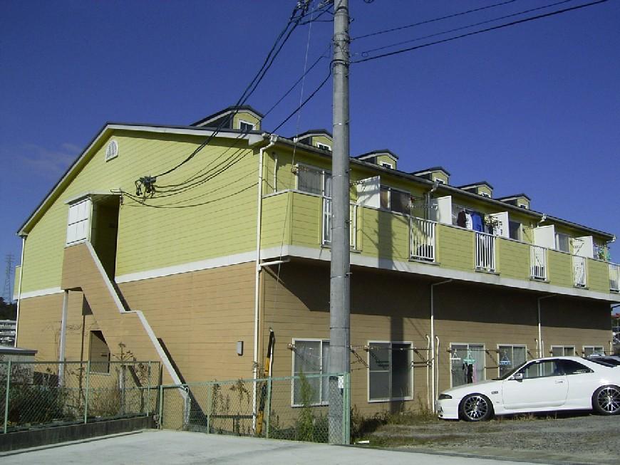 愛知県瀬戸市、尾張瀬戸駅徒歩20分の築20年 2階建の賃貸アパート