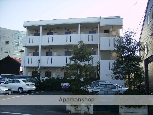 愛知県瀬戸市、新瀬戸駅徒歩24分の築28年 3階建の賃貸マンション