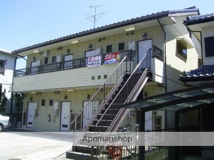 愛知県瀬戸市、新瀬戸駅徒歩19分の築26年 2階建の賃貸アパート