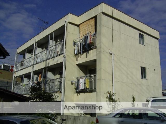 愛知県瀬戸市、瀬戸市役所前駅徒歩16分の築32年 3階建の賃貸アパート