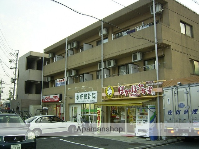 愛知県瀬戸市、水野駅徒歩2分の築19年 3階建の賃貸マンション