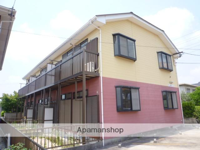 愛知県瀬戸市、新瀬戸駅徒歩15分の築22年 2階建の賃貸アパート