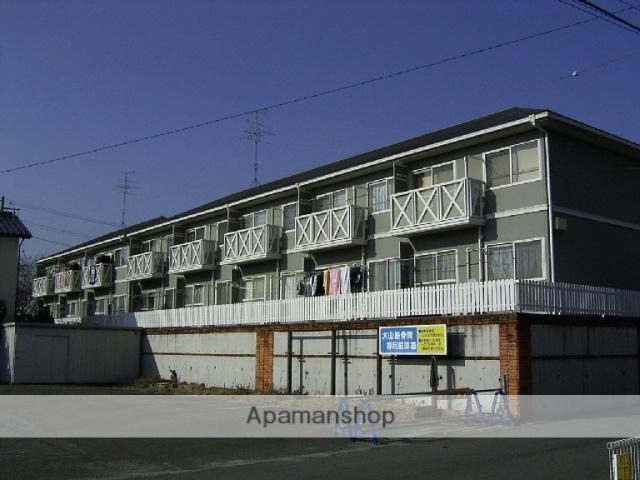 愛知県瀬戸市、山口駅徒歩3分の築23年 2階建の賃貸アパート