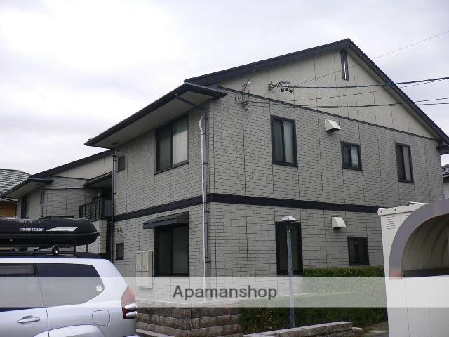 愛知県瀬戸市、山口駅徒歩3分の築17年 2階建の賃貸アパート