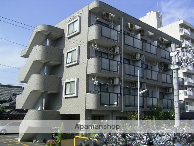 愛知県瀬戸市、新瀬戸駅徒歩23分の築20年 4階建の賃貸マンション