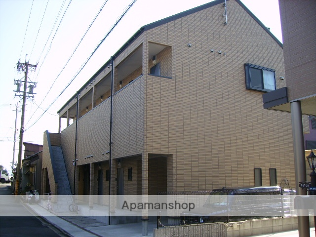 愛知県名古屋市中川区、山王駅徒歩12分の築11年 2階建の賃貸アパート