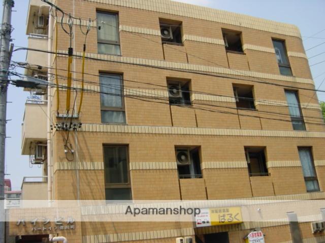 愛知県名古屋市東区、森下駅徒歩5分の築30年 4階建の賃貸マンション
