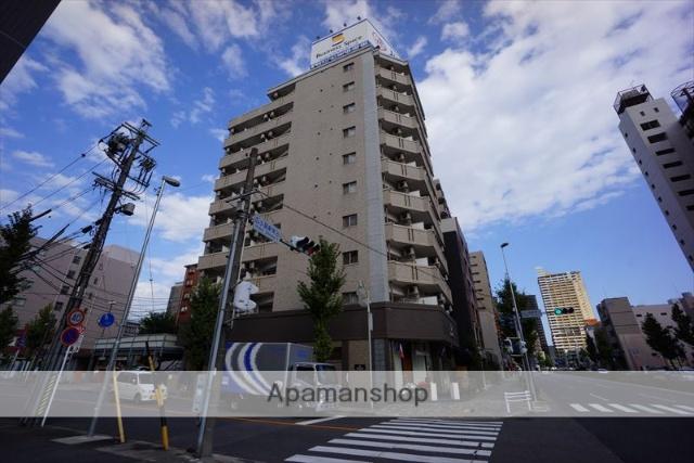 愛知県名古屋市中区、新栄町駅徒歩5分の築9年 10階建の賃貸マンション