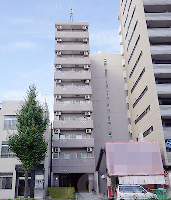 愛知県名古屋市中区、新栄町駅徒歩6分の築12年 10階建の賃貸マンション