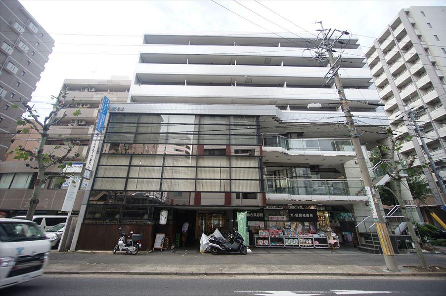 愛知県名古屋市中区、鶴舞駅徒歩11分の築28年 7階建の賃貸マンション