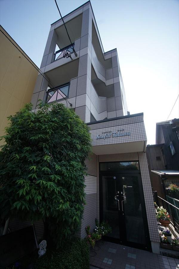 愛知県名古屋市中区、東別院駅徒歩5分の築18年 4階建の賃貸マンション