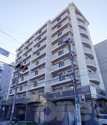 愛知県名古屋市東区、新栄町駅徒歩6分の築9年 9階建の賃貸マンション