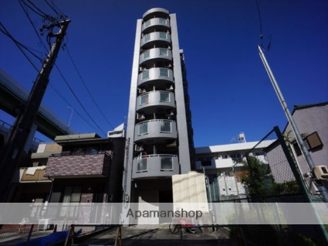 愛知県名古屋市北区、東大手駅徒歩10分の築25年 8階建の賃貸マンション