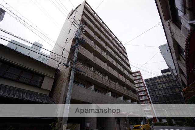 愛知県名古屋市中区、新栄町駅徒歩3分の築16年 9階建の賃貸マンション