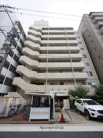 愛知県名古屋市東区、栄町駅徒歩13分の築27年 9階建の賃貸マンション