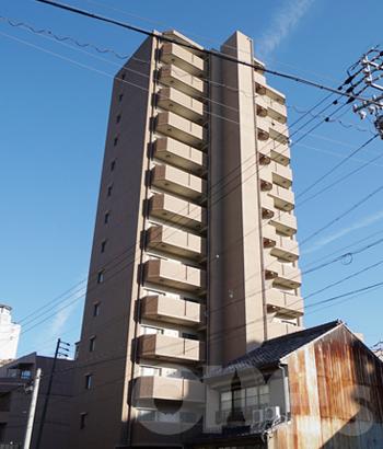 愛知県名古屋市西区、名鉄名古屋駅徒歩13分の築6年 15階建の賃貸マンション