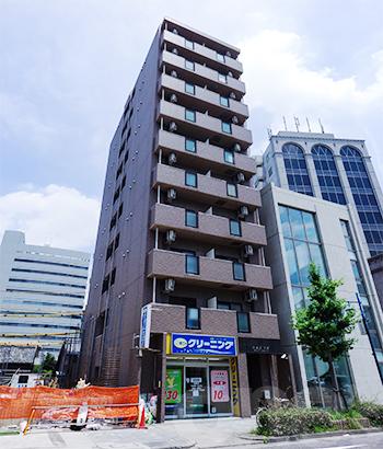愛知県名古屋市中区、新栄町駅徒歩9分の築15年 10階建の賃貸マンション