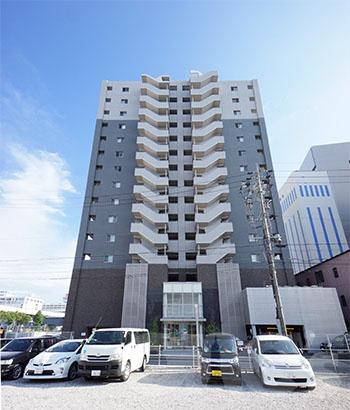 愛知県名古屋市中村区、名鉄名古屋駅徒歩9分の築12年 15階建の賃貸マンション
