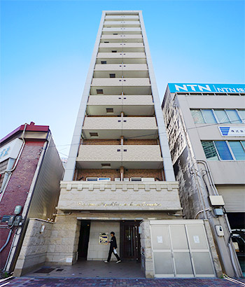 愛知県名古屋市中区、東別院駅徒歩1分の築7年 13階建の賃貸マンション