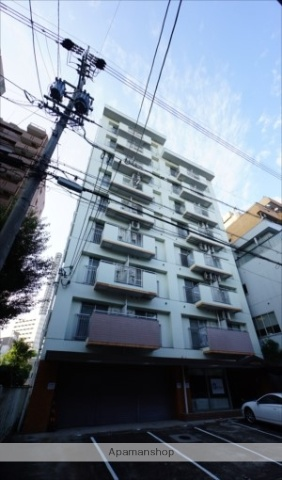 愛知県名古屋市中区、矢場町駅徒歩17分の築31年 9階建の賃貸マンション
