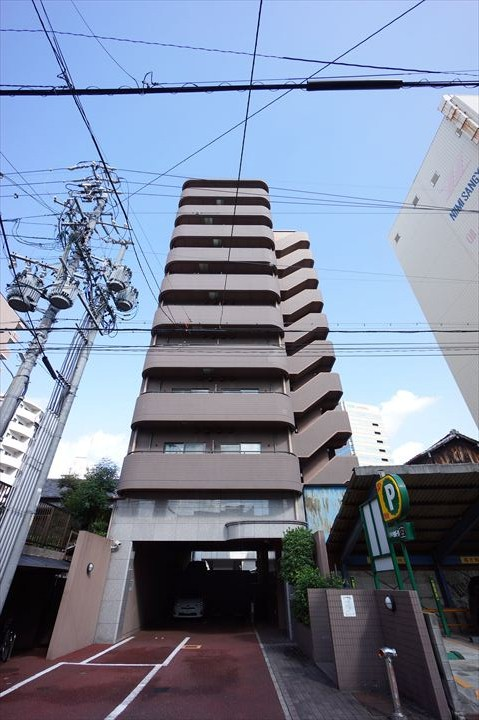 愛知県名古屋市中村区、名鉄名古屋駅徒歩14分の築17年 10階建の賃貸マンション