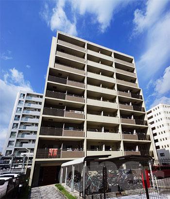愛知県名古屋市東区、新栄町駅徒歩4分の築10年 9階建の賃貸マンション