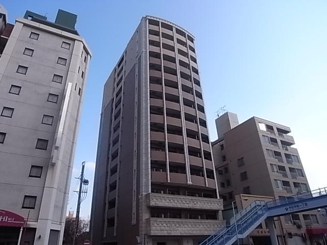 愛知県名古屋市中区、東別院駅徒歩3分の築8年 14階建の賃貸マンション