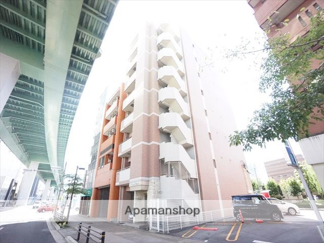 愛知県名古屋市西区、名城公園駅徒歩18分の築2年 8階建の賃貸マンション