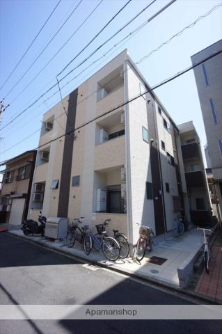 愛知県名古屋市中村区、名古屋駅徒歩8分の築1年 3階建の賃貸アパート