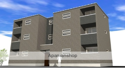 愛知県名古屋市西区、栄生駅徒歩18分の新築 3階建の賃貸アパート