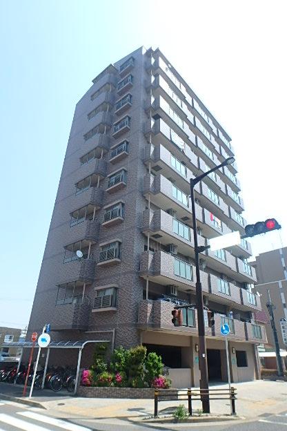 愛知県名古屋市東区、砂田橋駅徒歩4分の築16年 10階建の賃貸マンション