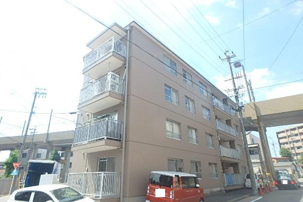 愛知県名古屋市東区、矢田駅徒歩9分の築36年 4階建の賃貸マンション