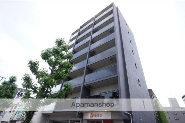愛知県名古屋市東区、新栄町駅徒歩14分の築1年 8階建の賃貸マンション