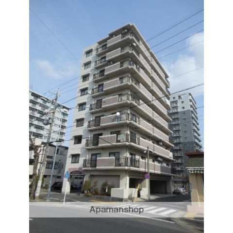 愛知県名古屋市東区、森下駅徒歩10分の築21年 9階建の賃貸マンション
