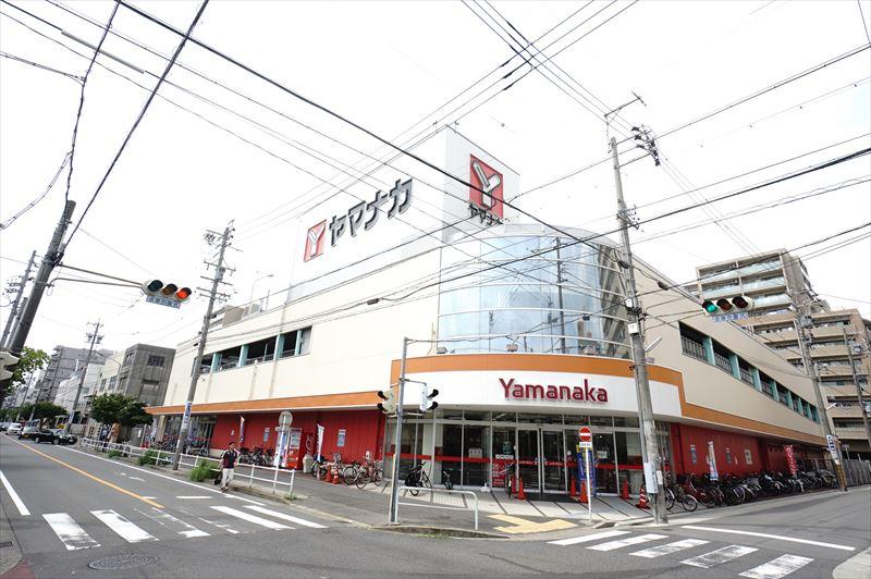 ヤマナカ松原店 339m
