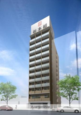愛知県名古屋市熱田区、金山駅徒歩4分の築4年 12階建の賃貸マンション