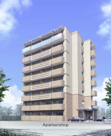 愛知県名古屋市西区、名古屋駅徒歩8分の築3年 8階建の賃貸マンション