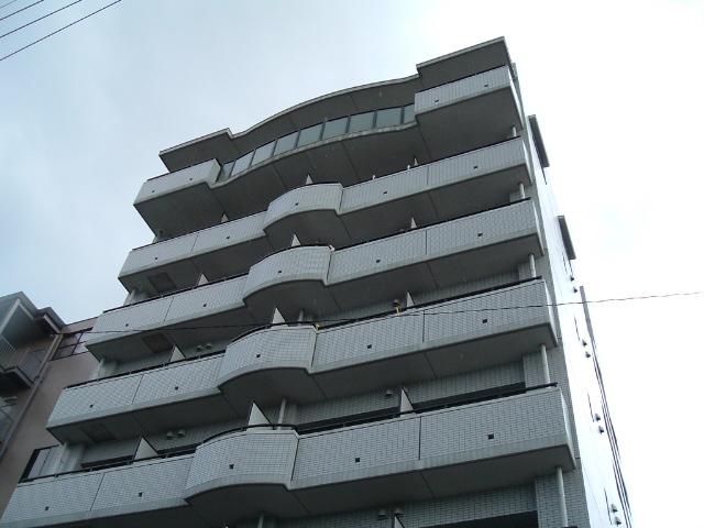 愛知県名古屋市昭和区、鶴舞駅徒歩15分の築20年 8階建の賃貸マンション