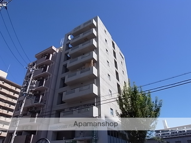 愛知県名古屋市中区、鶴舞駅徒歩14分の築30年 9階建の賃貸マンション