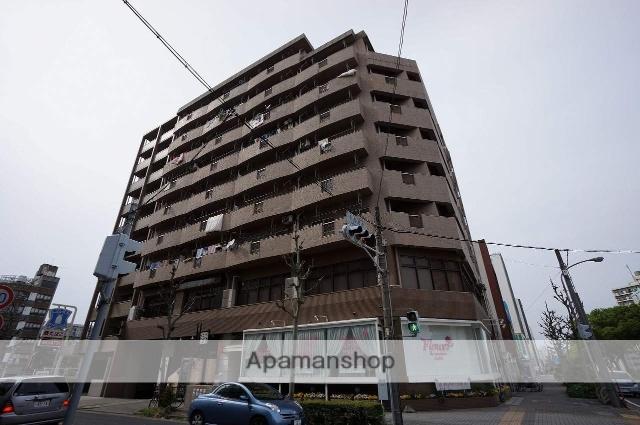 愛知県名古屋市中区、矢場町駅徒歩14分の築39年 9階建の賃貸マンション