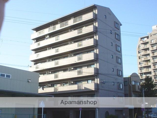 愛知県名古屋市中区、金山駅徒歩6分の築17年 8階建の賃貸マンション