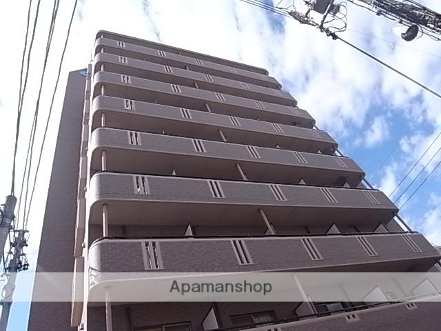 愛知県名古屋市熱田区、金山駅徒歩5分の築17年 9階建の賃貸マンション